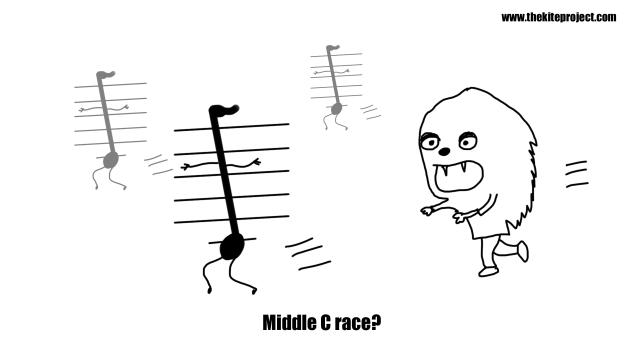 Middle c race?